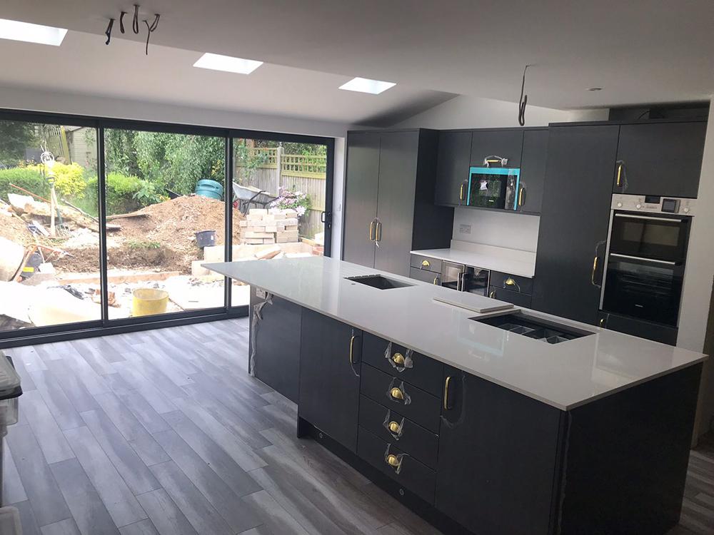Kitchen Renovation - Kitchen Preparation Island