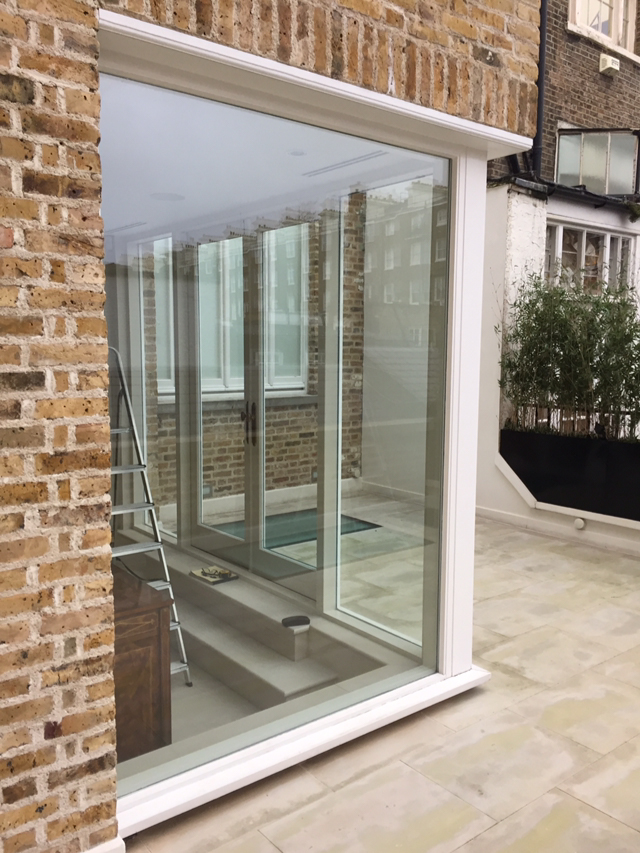 Exterior Corner Window